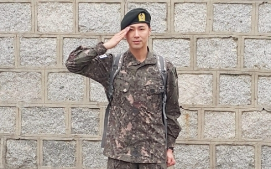 TVXQ's U-Know Yunho ends military service, pledges comeback