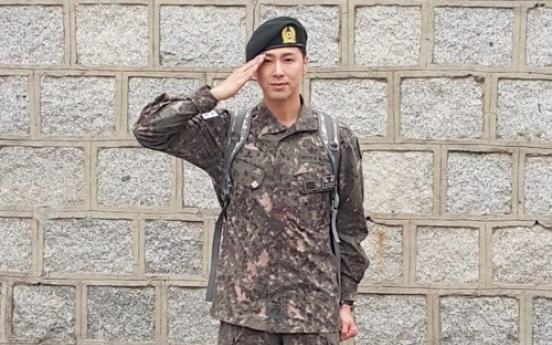 TVXQ's U-Know Yunho ends military service, pledges comeback