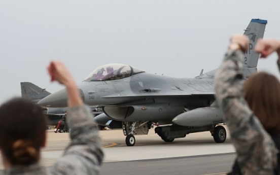 Korea, US field 100 aircraft in joint drill