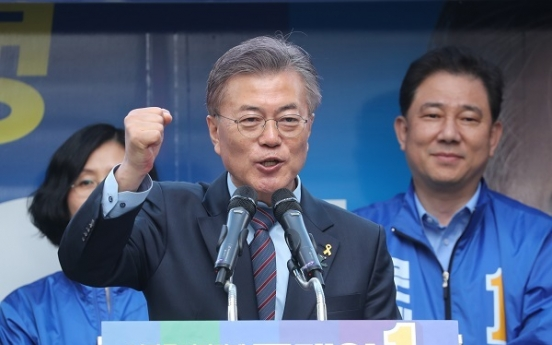 [Election 2017] Debate brews over Moon's refusal to call NK 'main enemy'