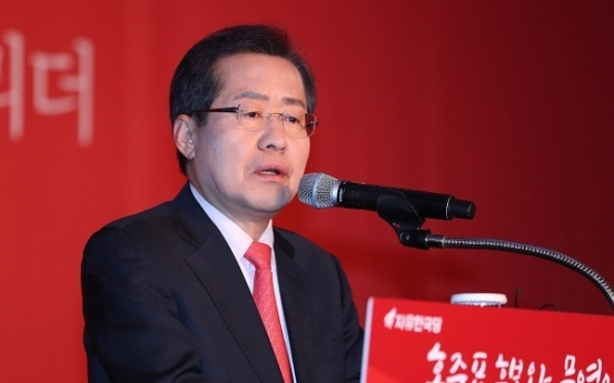 Hong makes ideological plea to boost lackluster campaign