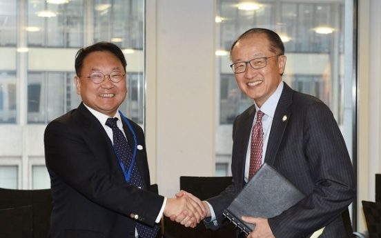 Korea, World Bank agree to widen cooperation