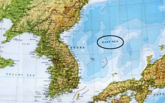 Seoul, Tokyo to face off over East Sea name