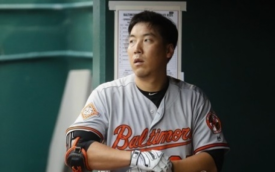 Orioles' Kim Hyun-soo gets 1st hit off left-hander this season