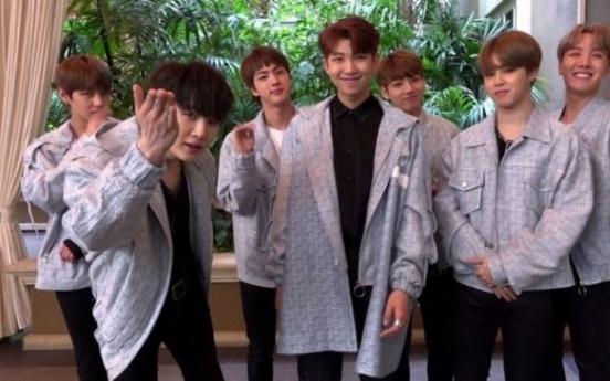 BTS wins 9th Shorty Awards