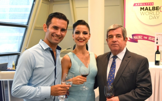 Argentine Embassy promotes flagship Malbec wine