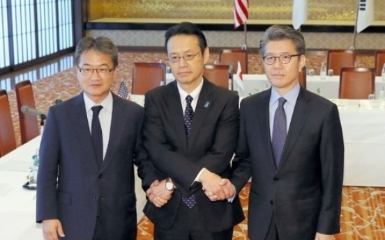 Nuke envoys from Korea, US, Japan meet to coordinate ways to reign in North