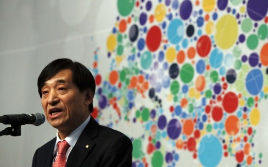 BOK chief calls for efforts to better reflect economic reality in GDP