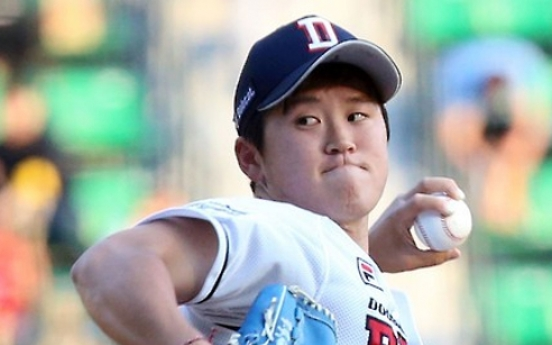 Korean baseball champs embrace pitcher investigated for illegal gambling