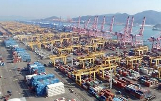 Korea's seaport cargo up 3.8% in Q1