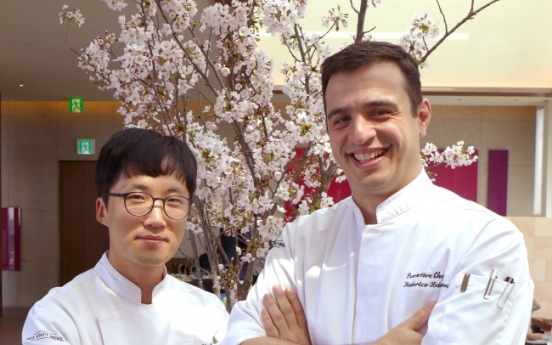 [Herald Interview] Chefs ferment chemistry between Korean, Western cuisines