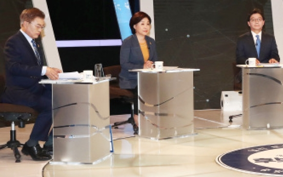 Candidates clash over THAAD expenses