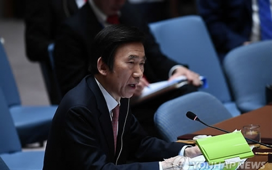 FM Yun calls for tougher sanctions on N. Korea for 'genuine' talks
