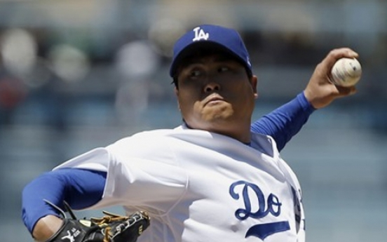 Dodgers' Ryu Hyun-jin placed on DL with hip injury