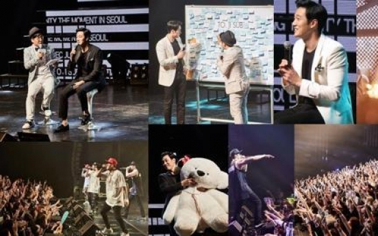 Actor So Ji-sub wraps up fan meetings in Asia