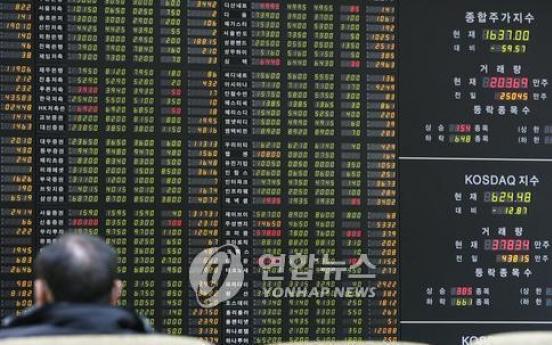 Foreign investors' holdings of Korean stocks hit new high