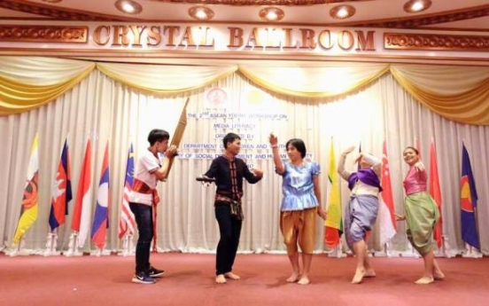 Laotian team highlights culture at regional workshop