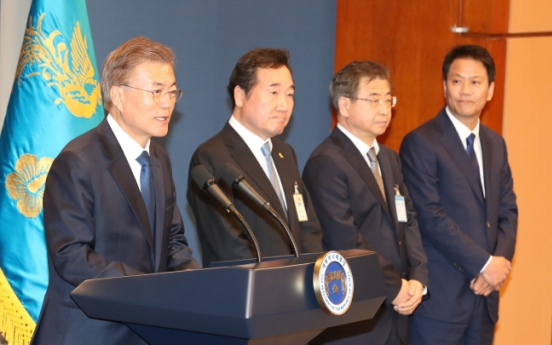 Moon Jae-in announces picks for prime minister, chief of staff