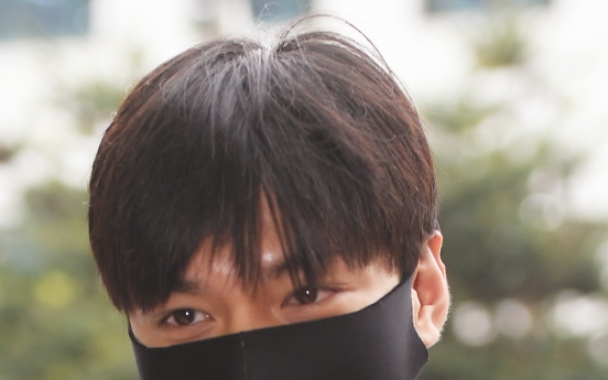 Lee Min-ho spotted on first day of military service