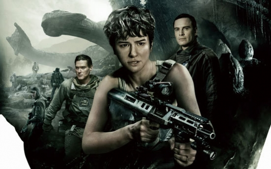 'Alien: Covenant' takes weekend win from 'Guardians 2' in S. Korea