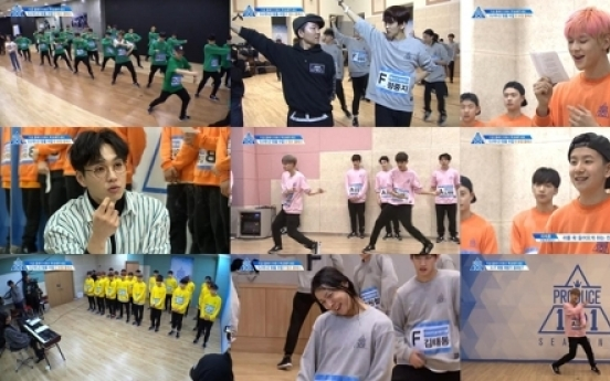 'Produce 101' reigns over TV chart for fifth week