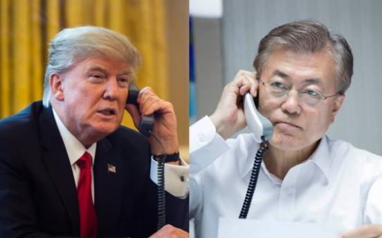 Moon, Trump to hold first summit in June