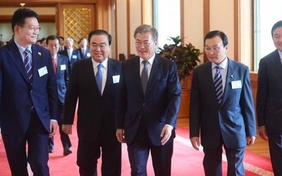 With envoy dispatch, Moon kick-starts summit diplomacy