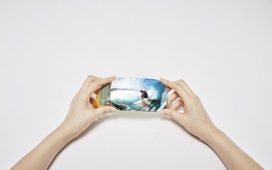 Samsung's quad-edge flexible display wins award
