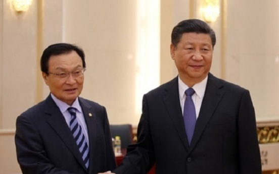 Xi hopes to get ties with Korea back on normal track