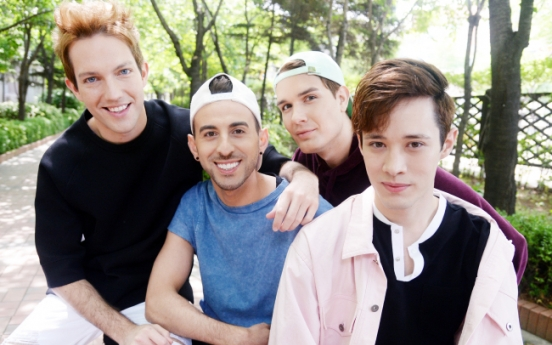 K-pop group EXP-Edition from NY seeks own musical color
