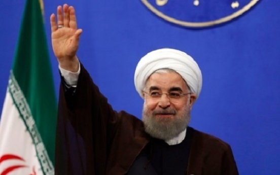 Korea welcomes Iran president's re-election, expects better ties
