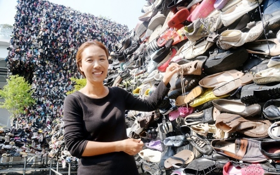 [Herald Interview] Artist behind controversial 'Shoes Tree' talks about her work