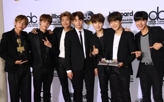 BTS makes new friends on Billboard red carpet