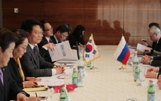 Moon seeks trilateral cooperation with Russia to change N. Korea: envoy