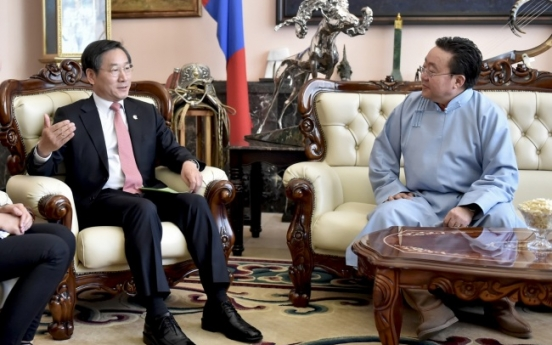 Incheon, Mongolia to enhance ties for joint climate response