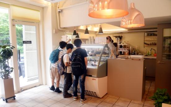 Zenzero churning out small batch gelato