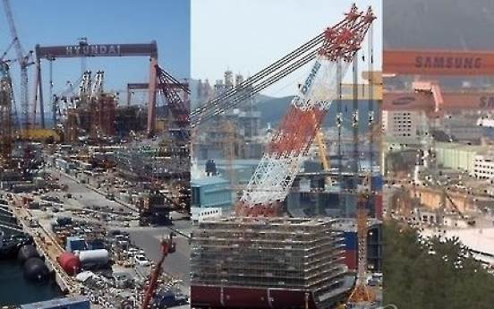 Shares of Hyundai Heavy, shipbuilders rise on recovery hope, oil prices