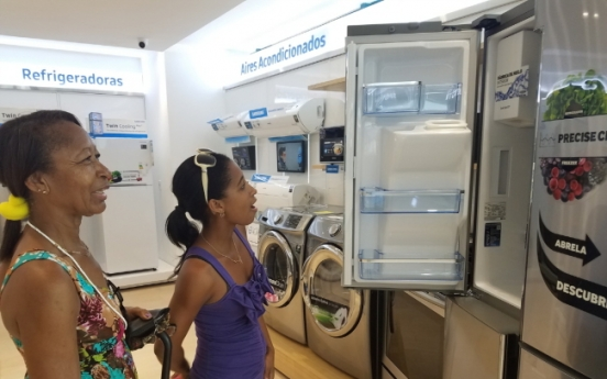 [Photo News] Samsung opens its brand shop in Cuba