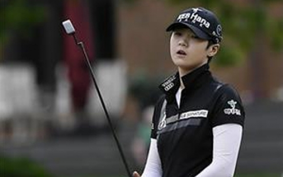 Korean rookie re-enters top 10 in women's golf rankings
