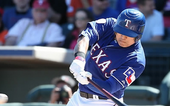 Rangers' Choo Shin-soo goes deep, extends on-base streak