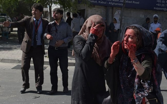 Massive Kabul truck bomb kills 64; Korean embassy damaged