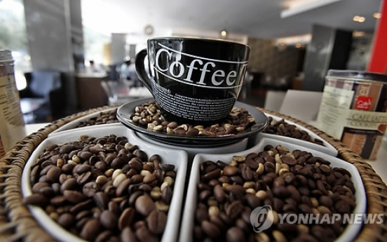 Korea's coffee product imports reaches record high last year
