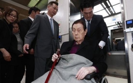 Top court confirms guardianship over Lotte founder