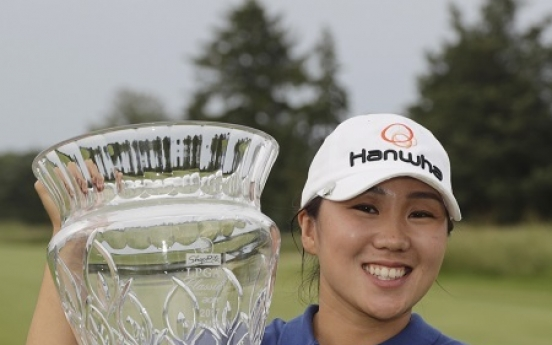 Kim In-kyung earns 5th LPGA victory