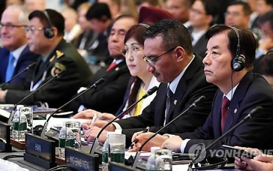 N. Korea draws more attention at Shanggri-La, minister says