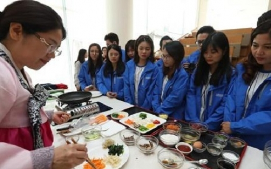 Foreign tourists enjoy Korean food, find some dishes overly spicy: poll