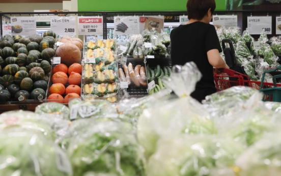 [Photo News] Food prices rise amid severe drought and outbreak of bird flu
