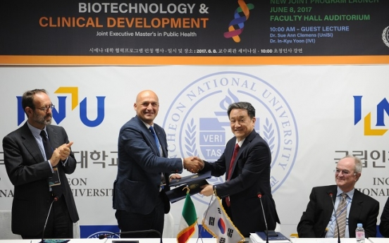 INU launches joint master's program in public health with Siena