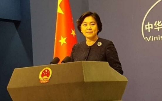 China urges N. Korea to not escalate tensions after missile launch