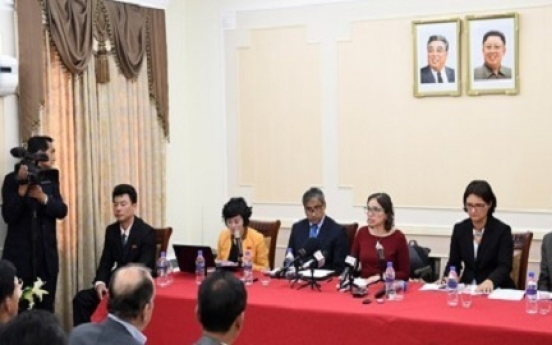 N. Korea dispatches delegation to New York meeting on disabled people
